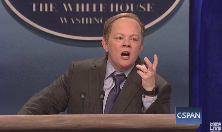 Did Saturday Night Live Bring Down Sean Spicer?